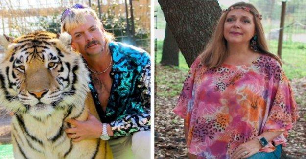 El Rey del tigre del zoológico de la entregó a su rival Carole Baskin