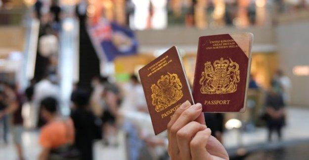 El reino unido para ofrecer a la ciudadanía 'ruta' para los residentes de hong KONG