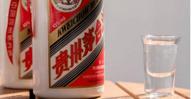 Elite de la marca de bebidas alcohólicas en China es más valioso de la empresa