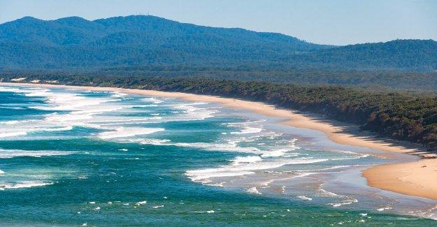 Enorme submarino ríos fueron descubiertos en la costa de Australia