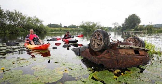 'Espantosa y terrible' de los niveles de basura en NI ríos