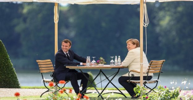 Francia, Alemania empuje para una rápida recuperación de la UE acuerdo de plan de