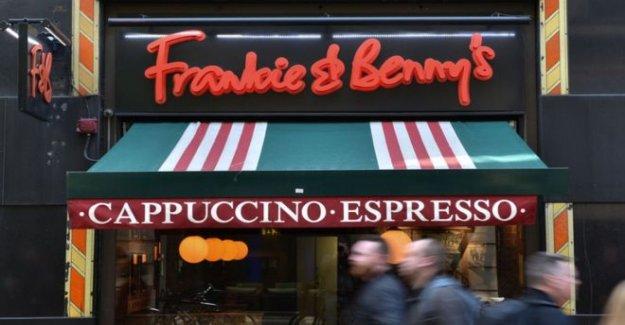 Frankie y Benny propietario de cortar hasta 3.000 puestos de trabajo