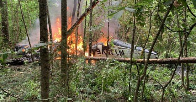 Georgia accidente de avión mata a 5 miembros de la familia se dirigió a funeral