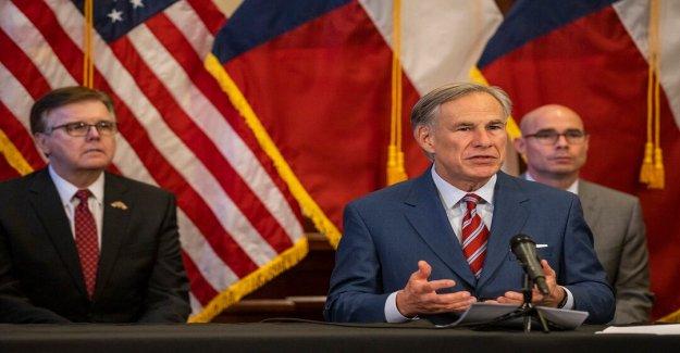 Gobierno de Texas. Abbott: Estado de ejecución coronavirus los sitios de la prueba le dará libre de máscaras para todos probados como los casos de la espiga