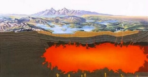 Investigadores descubren el supervolcán de Yellowstone, el más grande y más cataclismo'