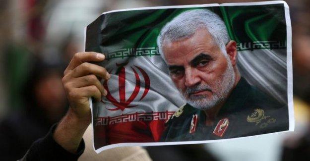 Irán busca el Triunfo del arresto de más de Soleimani matar