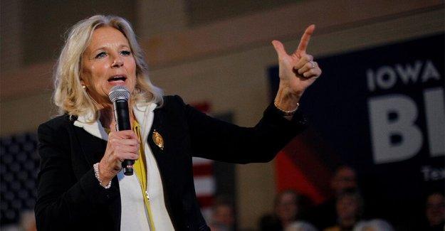 Jill Biden pronostica  un montón de Republicanos votarán por su marido, incluso si no lo admitirán