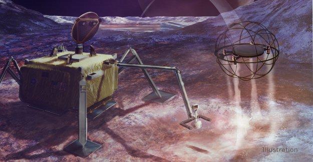 La NASA quiere utilizar un vapor robot para explorar heladas lunas que podía albergar vida extraterrestre