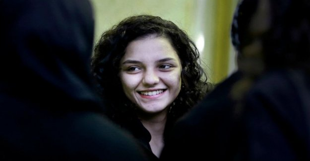 La familia, dice la hermana de la prominente activista Egipcio detenido