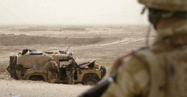 La guerra de irak procesamientos raro reino unido para los soldados