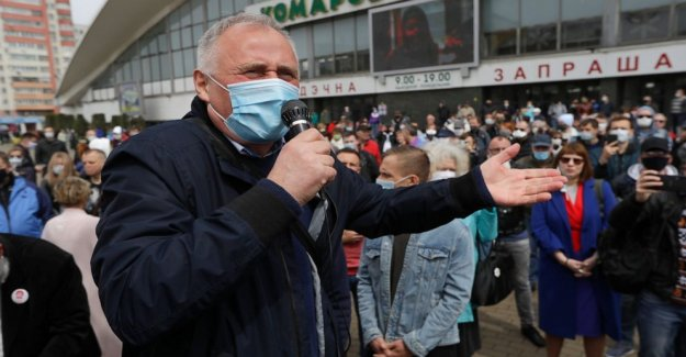 La parte superior figura de la oposición detenidos en Bielorrusia