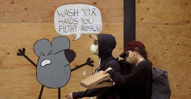Las máscaras y el distanciamiento social de trabajo, nuevos análisis encuentra