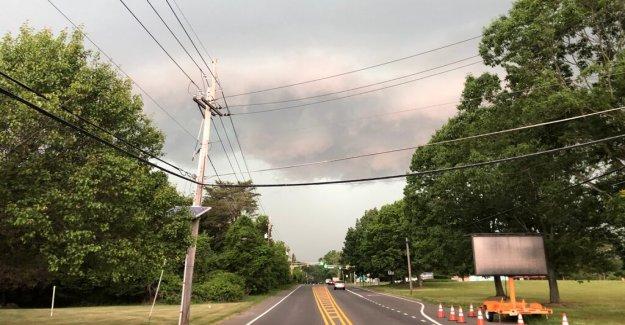 Las tormentas severas rugido a través de Pennsylvania, Nueva Jersey; más de 500.000 sin poder