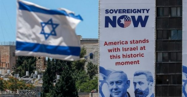 Los Diputados al parlamento europeo en masa carta sobre Israel anexión