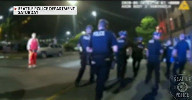 Los residentes cerca de Seattle PICAR pedimos lo llevó a la ciudad tanto tiempo para mover a romper la protesta
