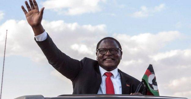 Malawi líder de la oposición gana histórico de la encuesta a ejecutar
