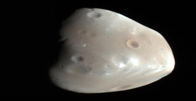 Marte podría haber sido un planeta de los anillos en su pasado antiguo, el estudio sugiere