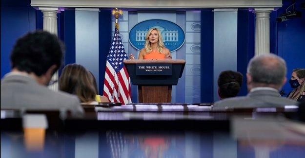 McEnany llamadas reportero pregunta de 'absurdo' cuando se le preguntó si Trump cree que es bueno el Sur perdió la Guerra Civil