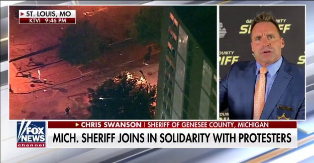 Michigan sheriff narra la marcha con Floyd manifestantes: Ellos querían una voz para escuchar'