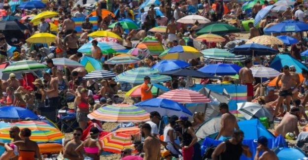 Miércoles reino unido el día más caluroso de lo que llevamos de año
