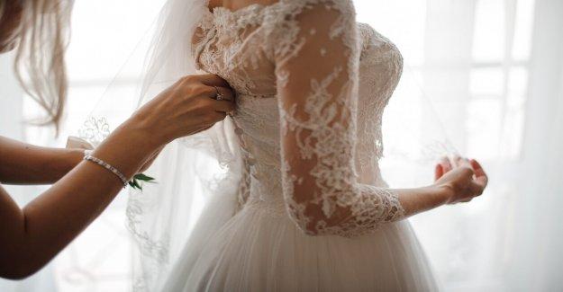 Minnesota novia se preocupa por accidente víctima, mientras que todavía llevaba su vestido de novia