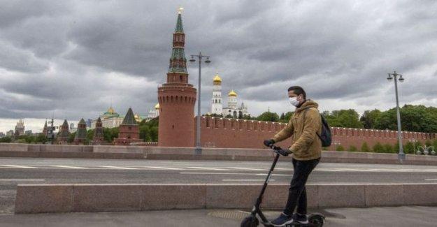 Moscú bloqueo aliviado después de nueve semanas