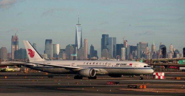 NOSOTROS a la prohibición de los vuelos de pasajeros de China