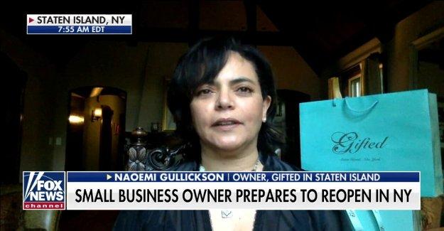 NY dueño de negocio: Coronavirus de cierre ha sido una pesadilla líderes  no mirando hacia fuera para las pequeñas empresas