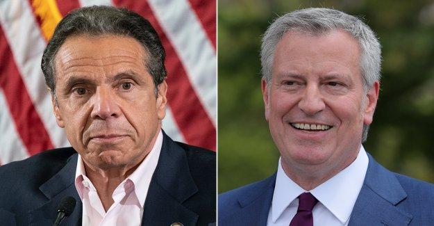 NYPD unión dice que la rivalidad entre el Cuomo, bill de Blasio poner los agentes de policía en peligro