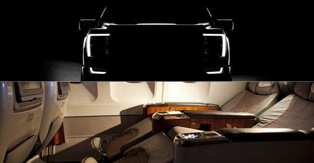 Primera clase de camión? Nueva Ford F-150 tiene una cama de asiento, dice informe