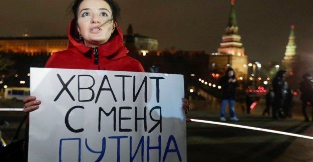 Rusia abre urnas para votar en la ampliación de régimen de Putin