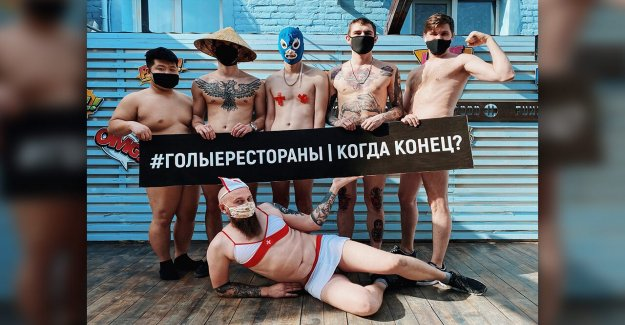 Ruso chefs de la tira en las redes sociales para protestar por estrictas reglas de bloqueo de seguridad