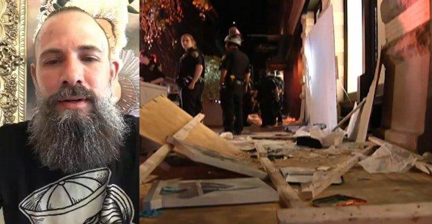 SoHo tatuador dice que su tienda desgarrado: 'no he visto un solo policía en la tierra'