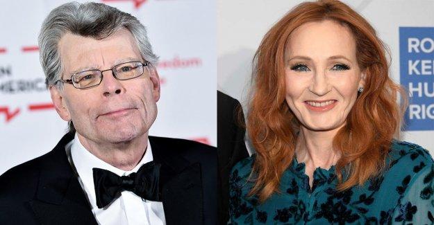 Stephen King dibujado a J. K. Rowling transgénero controversia
