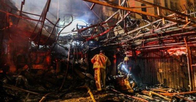 Teherán clínica afectados por explosión mortal