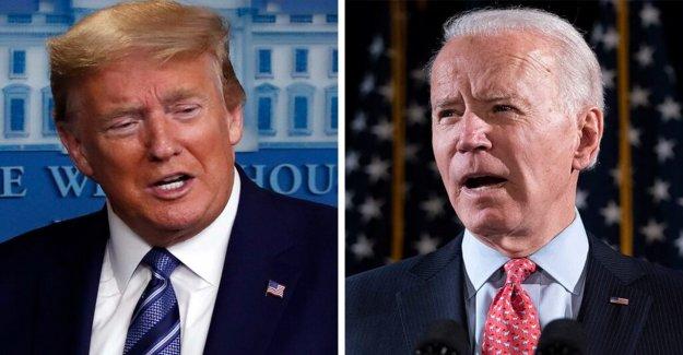 Teniendo como objetivo Trump, Biden a prometer que no avivar las llamas del odio'