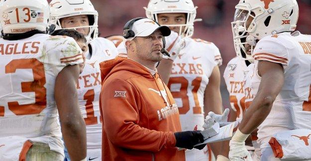 Texas entrenador de fútbol americano Tom Herman cree que hay 'doble estándar' con los fans cuando se trata de negros a los estudiantes-atletas