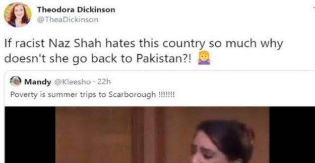 Tories suspender activista sobre Musulmán MP comentarios