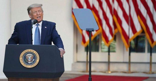 Transcripción: Trump para movilizar los recursos federales para detener la violencia, restablecer la seguridad