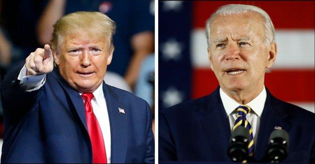 Trump trailing Biden en 6 estados de batalla: encuestas