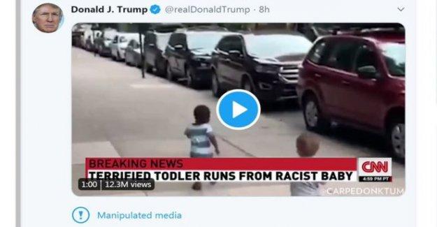 Twitter etiquetas Trump tweet 'manipulado' medios de comunicación