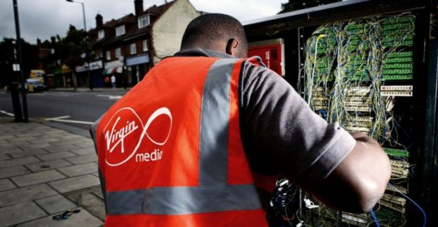 Virgen de los Medios de comunicación de banda ancha sin conexión en Londres de nuevo
