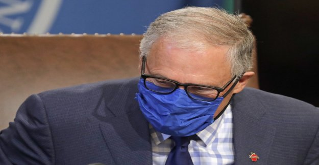 Washington órdenes cara revestimientos de todo el estado a partir del viernes como el coronavirus se extiende