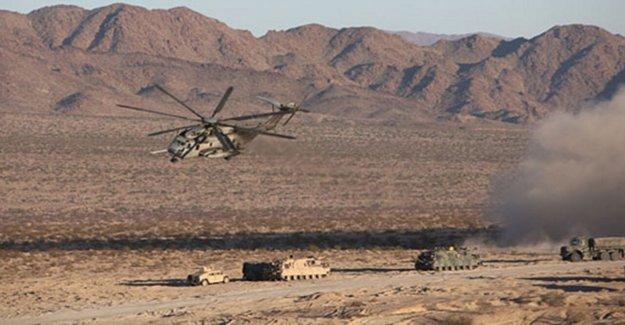 Active shooter situación en California Marine Corps base