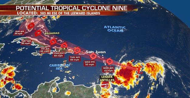 Advertencias de tormenta Tropical para Puerto Rico, Islas de Sotavento como Isaías posible impacto de la Florida por fin de semana