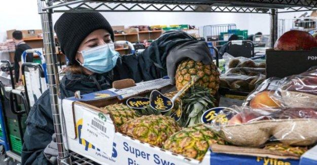 Amazon lleva en los supermercados con alimentos libres de entrega