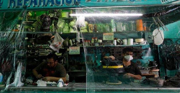 América latina se enfrenta a década perdida de coronavirus del PIB de la gota