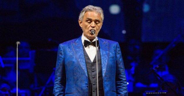 Andrea Bocelli 'humillado' por Italia Covid reglas