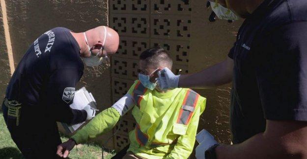 Arizona comunidad se convierte en COVID-19 hot spot sin acceso a la prueba rápida